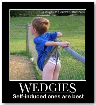 How To Self Wedgie